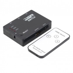 Switch Selector Hdmi 3 X 1